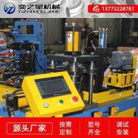 卡压三通成型机 不锈钢卡压管件成型机 冲孔机