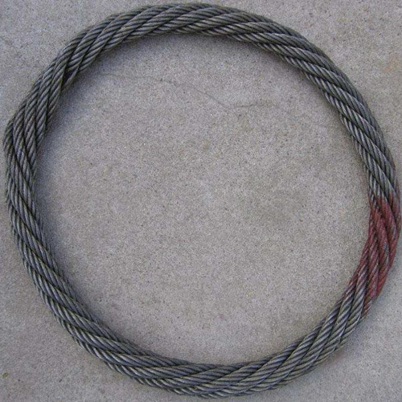 無接縫鋼絲繩吊索 無接頭鋼絲繩索具 鋼絲繩吊索具廠家 可定製