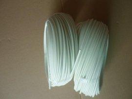 白色硅树脂纤维管