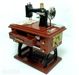 缝纫机音乐盒