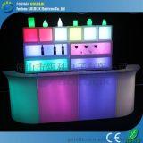 佛山廠家定做酒吧LED發光傢俱,led發光塑料吧檯 酒店酒吧吧檯