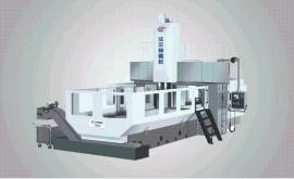 大型零件进行高精度数控龙门铣K42系列定梁式龙门数控镗铣床