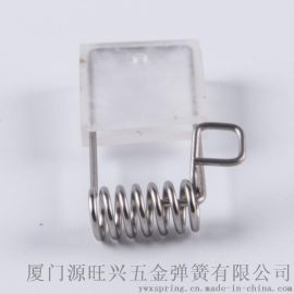 包硅胶套不锈钢 2  4  6 8寸折脚筒灯射灯面板灯用灯具一字扭簧