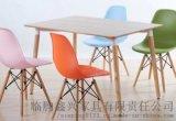 肯德基食堂奶茶店小吃店饭店4人位快餐桌椅组合包邮