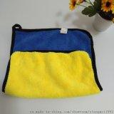 复合包边双面 30*40cm加厚双色珊瑚绒茶巾