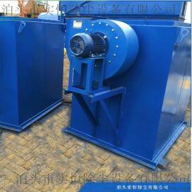 DMC小型锅炉布袋除尘器 沧州实恒单机锅炉除尘器
