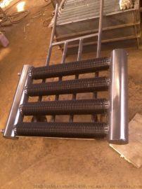 鋼制翅片管散熱器圓翼型翅片管散熱器 河北冀州志翔按需定做散熱器 散熱烘幹設備散熱器
