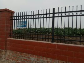 厂区隔离锌钢护栏网别墅绿化带铁艺护栏pvc塑钢护栏