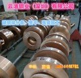 供应T1紫铜带 T2半硬冲压红铜带 软态拉伸C1100带