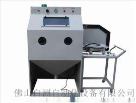 价格便宜做工精细手动模具专用喷砂机 除锈打砂机