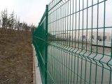 振鼎 綠化帶隔離防爬浸塑鐵絲網圈地雙邊絲護欄