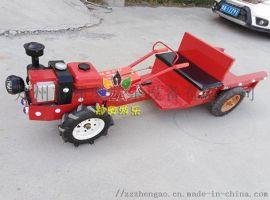 儿童电动拖拉机公园广场电动拖拉机玩具厂家
