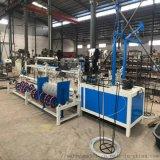 恒泰HT-3000厂家定制菱形网机器 防护勾花网
