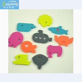 彩色eva泡棉制品 eva成型加工 鸭子益智玩具