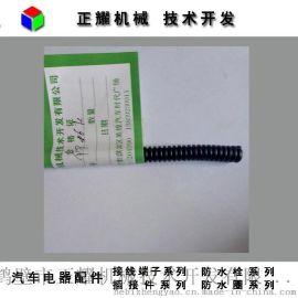 内径6mm汽车波纹管PP阻燃线束电线套管隔热波浪穿线套管200米