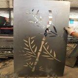 金属屏风镂空激光雕刻 隔断玄关激光切割加工