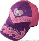 青島冠達定製各式麂皮絨特殊款式時尚繡花寶石裝飾棒球帽