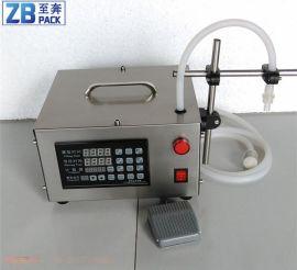 油玻璃水白酒洗衣液 小型定量分装机