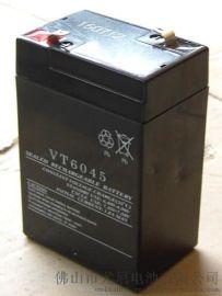 後備專用蓄電池6V4.5AH鉛酸蓄電池