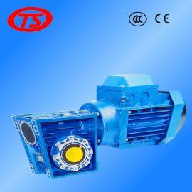 供应台湾进口统信RV025+YS5614蜗轮蜗杆减速机 NMRV涡轮减速机