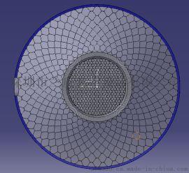 阵列LEDの单罩杯透镜光学设计