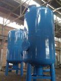 微孔刚玉陶瓷膜过滤器-氨水过滤器 焦化厂在炼焦工程中,由于加入配煤水份和炼焦时生成的化合水,使氨水量增多而形成剩余氨水,剩余氨水中含焦油高,引起后工序管道和设备