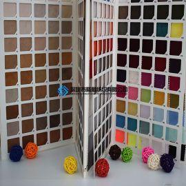 隆顺LS9001麂皮绒加密五枚缎 六枚缎箱包手袋料 厂家现货批发