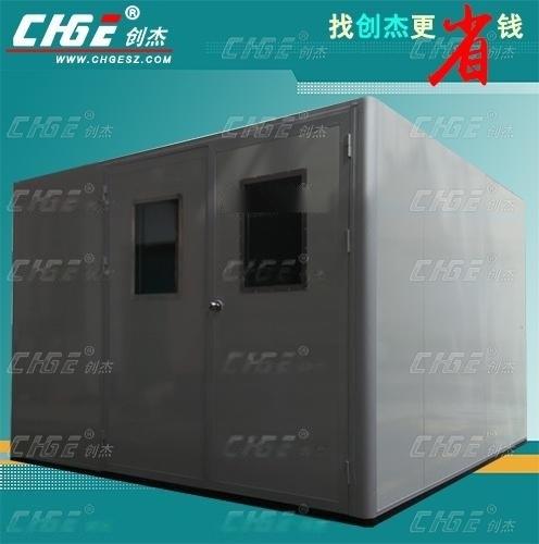 可靠性节能老化房移动式OVEN,静音节能高温恒温老化房烧机柜制造商可靠性节能老化房创杰