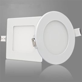 led面板灯 厨房嵌入式铝扣筒灯照明灯卫生间吸顶灯超亮款