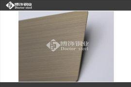 佛山博飾鋼業供應不鏽鋼青古銅拉絲板,不鏽鋼鍍銅板,不鏽鋼仿古銅板