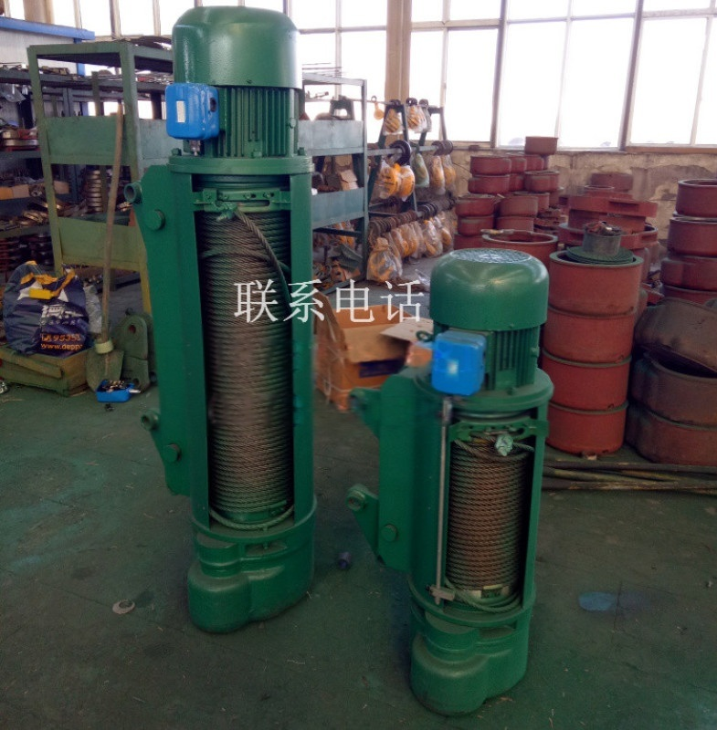 厂家货源 单双梁用提升1T-6M钢丝绳电动葫芦