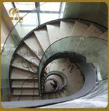 供应大型钢结构楼梯旋转楼梯精品玻璃楼梯消防楼梯
