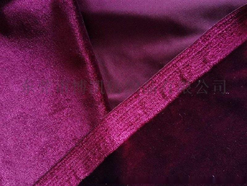 厂家批发经编不倒绒 金丝绒 韩国绒 卫衣服装家纺针织面料