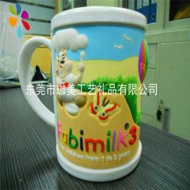 专业订制塑料马克杯 卡通马克杯 塑胶马克杯 品质好