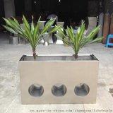 工廠專業生產不鏽鋼花盆  定做不鏽鋼花器
