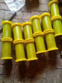 聚氨酯半包型地滚轮 托绳轮 地滑子