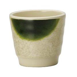 密胺仿瓷餐具 绿茶杯 日式茶杯634