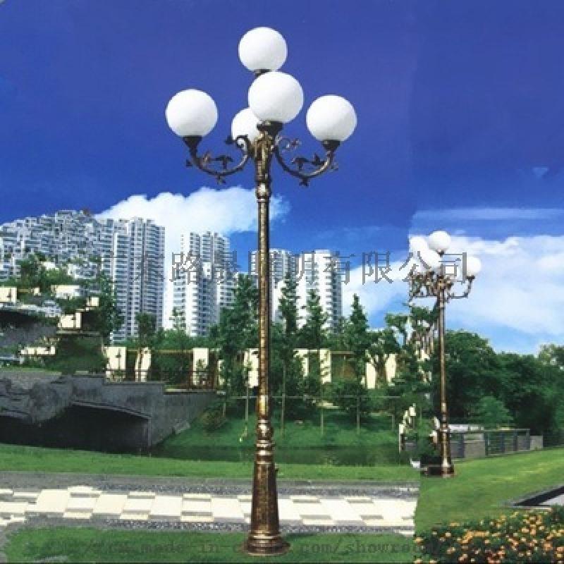 定製led 中華燈玉蘭燈 3頭4頭5頭戶外廣場景觀燈