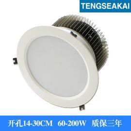 100W筒灯 10寸LED筒灯100W 大功率筒灯