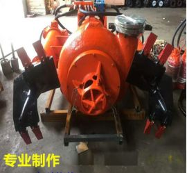 高度耐磨吸沙泵 无堵塞钩机抽沙泵 液压驱动砂浆泵