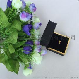LED灯求婚戒指盒镶金边首饰盒珠宝包装