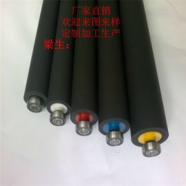 防静电胶辊抗静电胶轮除静电胶轴减静电胶辘