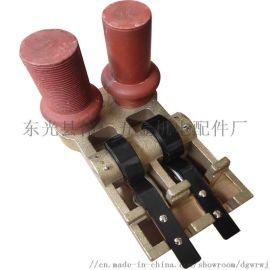 供应矿山机车刷架 湘潭220型刷握 铸铜刷握
