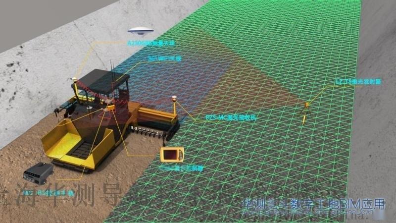TP63摊铺机3D智能控制系统_摊铺机智能控制系统
