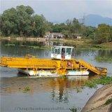 实用型河道水葫芦收割船 广东水域清理水草设备