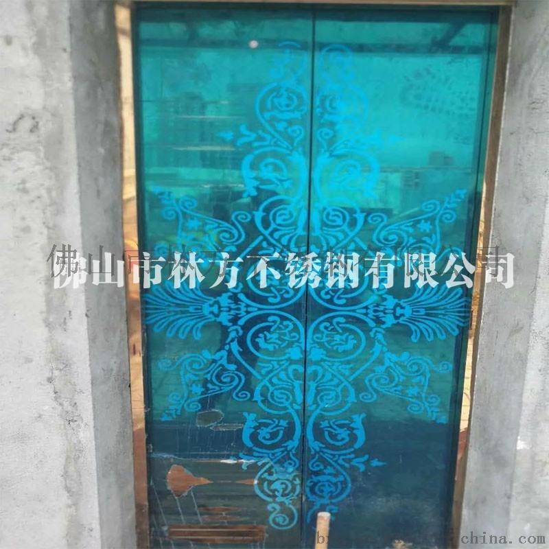 304**不锈钢蚀刻板 酒店装饰用电梯门腐蚀板