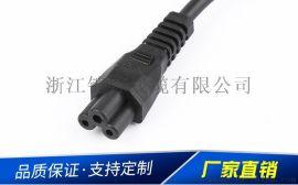 澳大利亚 韩国美国PVC 三芯米老鼠插头电源线