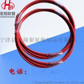 液压树脂高压油管软管,钢丝增强高压树脂管总成