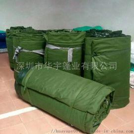 龙岗帆布加工销售加厚货车篷布盖货帆布抗老化有机硅布