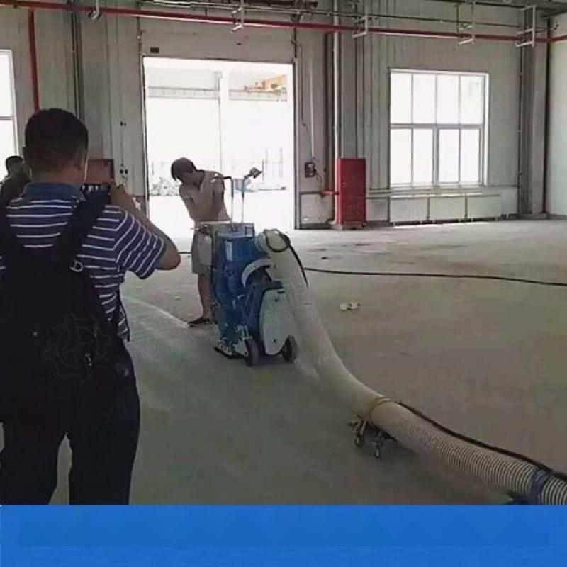 新疆抛丸机双抛头路面抛丸机视频
